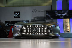 Mercedes-Benz AMG Vision Gran Turismo car on display at the LA A Royalty Free Stock Photography