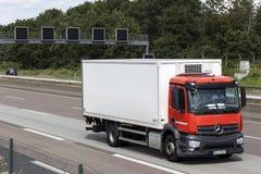 Mercedes Benz Antos Truck Stock Photography