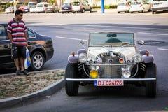 Mercedes Benz anziana Immagini Stock Libere da Diritti