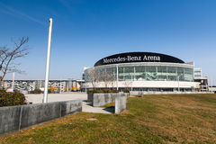 Mercedes-Benz Arena, Berlino Immagini Stock Libere da Diritti