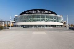 Mercedes-Benz Arena, Berlino Immagini Stock