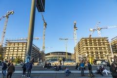 Mercedes Benz Arena a Berlino, Germania Fotografia Stock Libera da Diritti