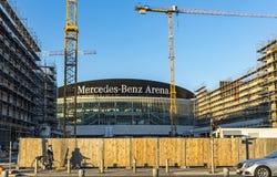 Mercedes Benz Arena a Berlino, Germania Immagine Stock Libera da Diritti