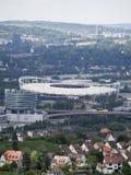 Mercedes-Benz Arena i Stuttgart Royaltyfria Bilder