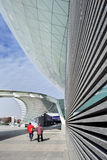 Mercedes-Benz Arena Shangia, Chine Image stock