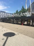 Mercedes Benz Arena Royalty Free Stock Image