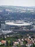 Mercedes-Benz Arena in Stuttgart Royalty Free Stock Images