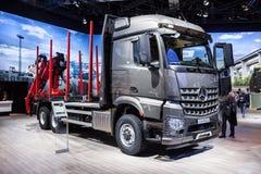 Mercedes Benz Arocs 2651 LK logging truck Stock Image