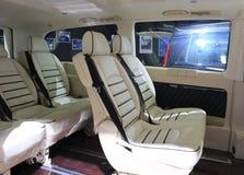 Mercedes-Benz autobinnenland royalty-vrije stock foto's