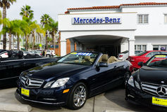 Mercedes-Benz Automobile Dealership Royalty Free Stock Image