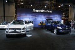 Mercedes Benz Automobiles Royalty Free Stock Photos
