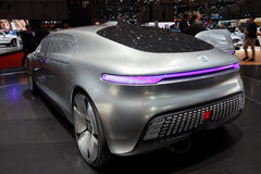 Mercedes Benz autonomous concept car Stock Image