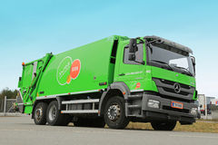 Mercedes-Benz Axor 2533 Refuse Truck Royalty Free Stock Photo