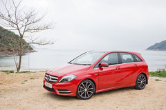 Mercedes-Benz B-Class 2012 Royalty Free Stock Image