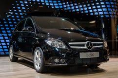 Mercedes-Benz B-grupp ny generation Arkivbild