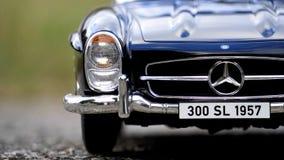 Mercedes Benz Blue Car Stock Image