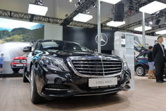 Mercedes - benz booth Royalty Free Stock Photography