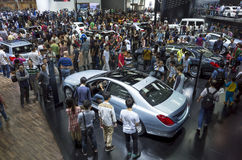 Mercedes-Benz booth Stock Photos