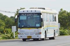 Mercedes benz bus of Nakhonchai air Royalty Free Stock Photos