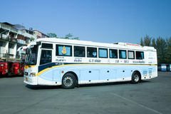 Mercedes benz bus of Nakhonchai air company Royalty Free Stock Photography