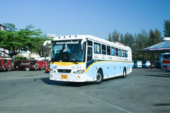 Mercedes benz bus of Nakhonchai air company Stock Photo
