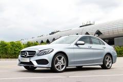 Mercedes-Benz C 250 AMG 2014 Stock Afbeeldingen