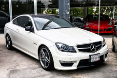 Mercedes-Benz C63 AMG Stock Photography