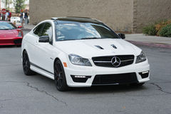 Mercedes Benz c63 AMG car on display Royalty Free Stock Images