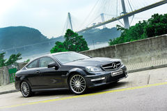 Mercedes-Benz C63 AMG Stock Photo