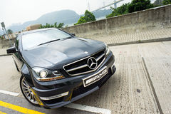 Mercedes-Benz C63 AMG Stock Images