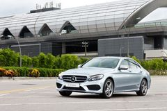 Mercedes-Benz C 250 AMG 2014 Royalty Free Stock Image