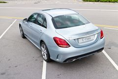 Mercedes-Benz C 250 AMG 2014 Stock Images