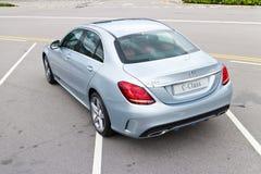 Mercedes-Benz C 250 AMG 2014 Stock Images