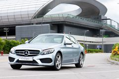 Mercedes-Benz C 250 AMG 2014 Royalty Free Stock Photography