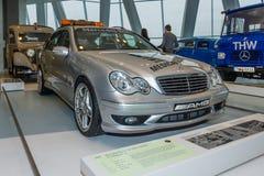 Mercedes-Benz C32 AMG station wagon F1 Medical car, 2001 Royalty Free Stock Photo