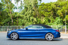 Mercedes-Benz C 200 Cabriolet Drive Day Stock Photography