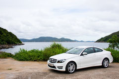 Mercedes-Benz C-Class C200 2012 Royalty Free Stock Image