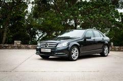 Mercedes-Benz C-Class C200 Sedan Royalty Free Stock Photos