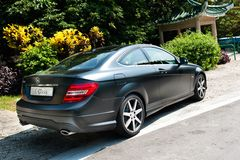 Mercedes-Benz C-Class Coupe Royalty Free Stock Images