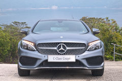 Mercedes-Benz C-Class Coupe 2016 Test Drive Day Stock Photography
