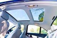 Mercedes-Benz C-Class 2014 2015 sun-woof Stock Image