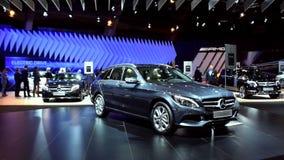 Mercedes-Benz C-Class Wagon estate car stock footage