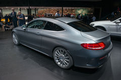 Mercedes-Benz C-classe Coupe - world premiere Royalty Free Stock Photo