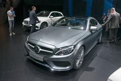 Mercedes-Benz C-classe Coupe - world premiere Royalty Free Stock Photos