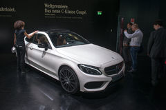 Mercedes-Benz C-classe Coupe - world premiere Stock Image