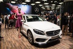 Mercedes-Benz C 180 L Royaltyfria Bilder