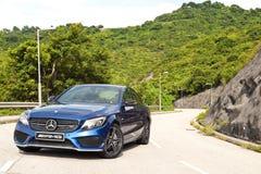 Mercedes-Benz C 43 2016 Probefahrt-Tag Stockfoto