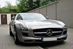 Mercedes-Benz C197 SLS AMG Images libres de droits