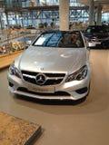 Mercedes Benz Cabrio. Berlin Profi Auto Stock Photography