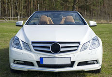 Mercedes benz cabriolet Stock Photography